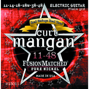 Curt Mangan Pure Nickel 11-48 Electric Guitar Strings