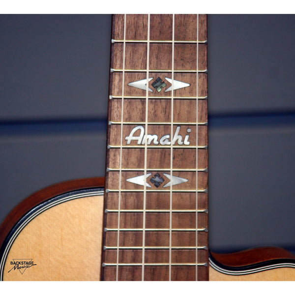 Amahi Cutaway Concert Ukulele, UK220CD, Backstage Music