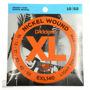 D'Addario EXL140 LT/HB 10-52  Electric Guitar Strings