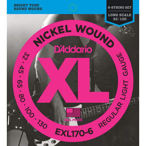 D'Addario EXL170-6 032-130 Bass 6 String Set