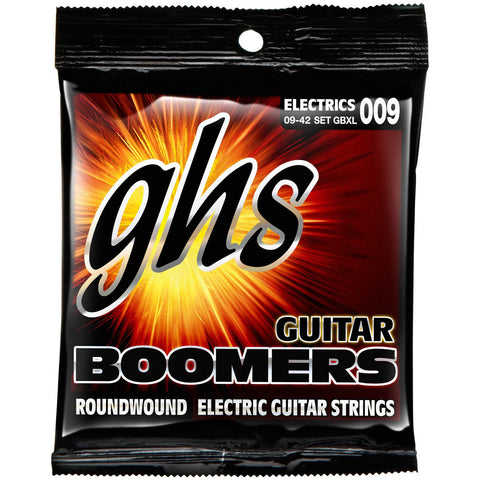 GHS Boomers  XL Electric Strings 9-42