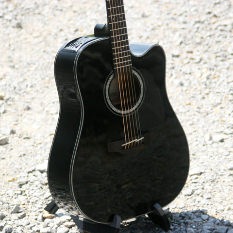 Takamine Acoustic/Electric Guitar GD30CE In Black
