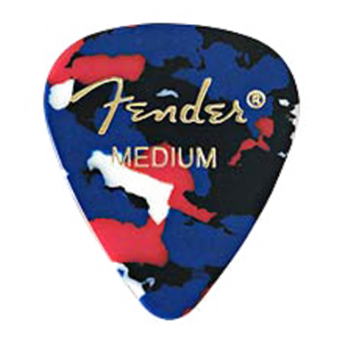 Fender 351 Confetti Medium Pick Pack (12 Pack)