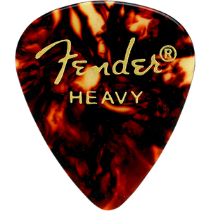 Fender 351 Shell Heavy Pick Pack (12 Pack)