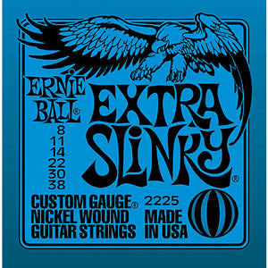 Ernie Ball Extra Slinky 8-38 Electric Guitar Strings