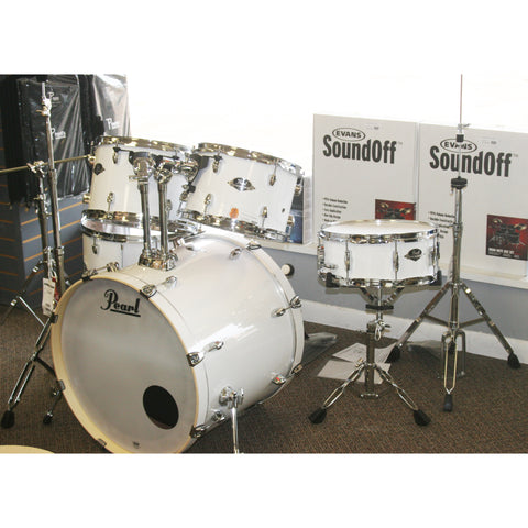 "Pearl Pure White Export 22"" 5 Piece Kit With Hardware"