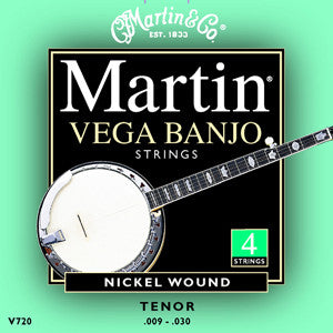 Martin Vega Tenor Banjo Strings