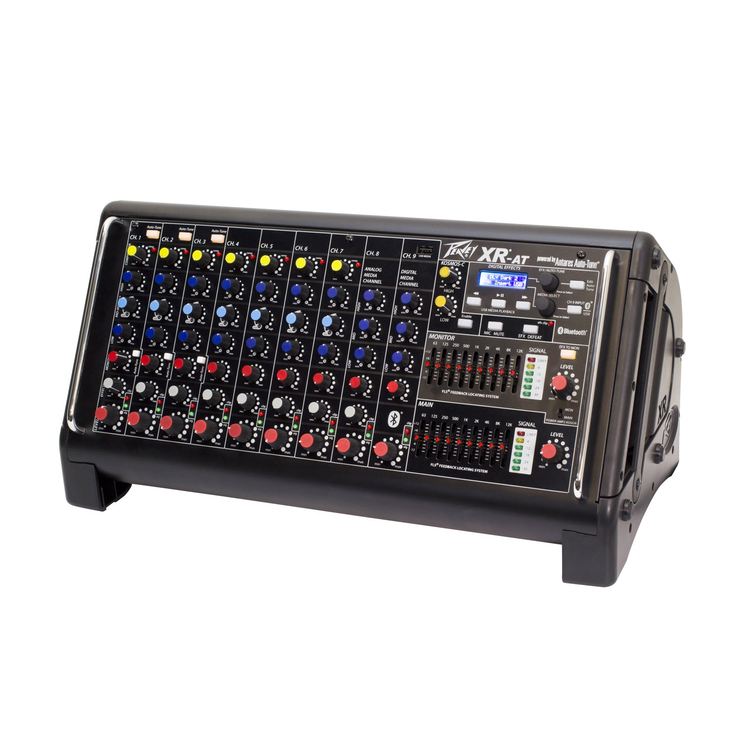Peavey XR-AT 9-Channel Powered Mixer, Backstage Music, Starkville