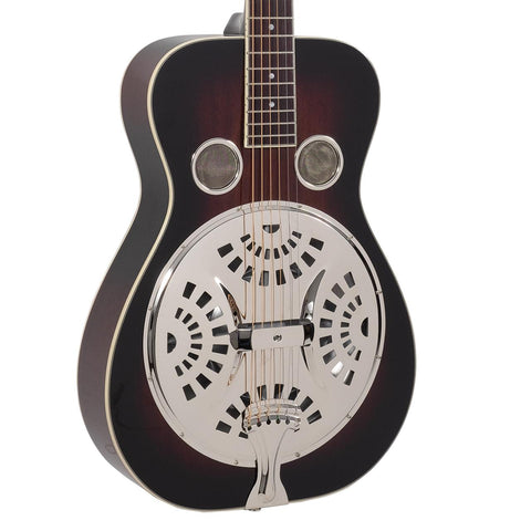 Recording King Maxwell Series Round Neck Resonator, FREE Gig Bag