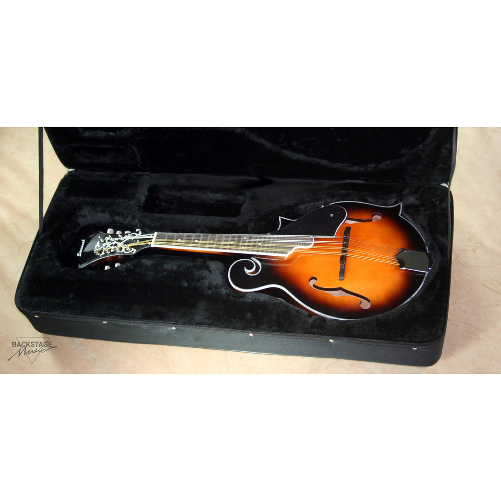 Savannah F Body Mandolin With Case (SF-100), Vintage Sunburst Finish