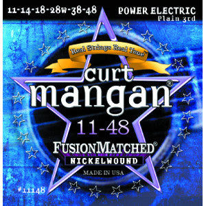 Curt Mangan 11-48 Nickel Wound Electric Guitar Strings