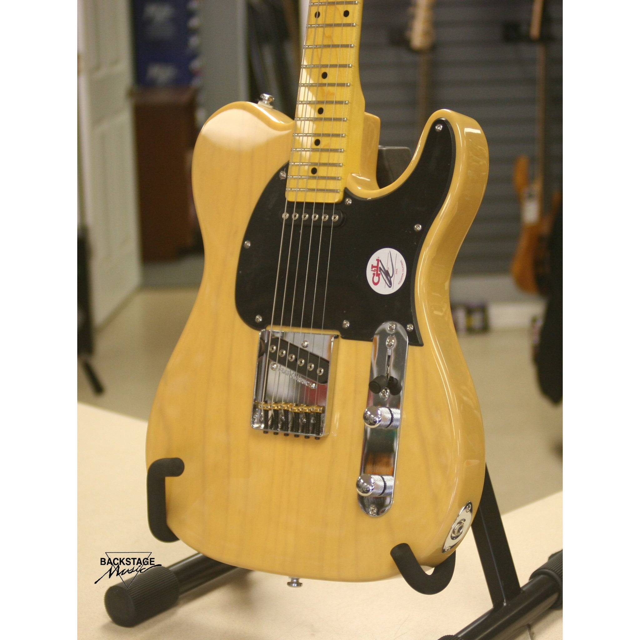 G&L Tribute ASAT Classic, Butterscotch Blond, New