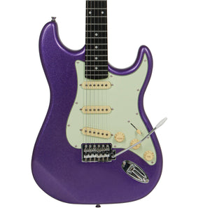 "Tagima TG-500 ""S"" Style Electric Guitar, Metallic Deep Purple"
