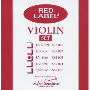 Red Label Violin 1/4 Set