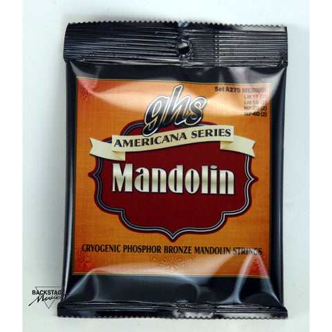 GHS Phosphor Bronze Medium Mandolin Strings 11-40