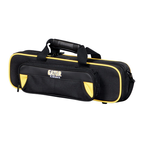 Gator Flute Yellow/Black Semi-Hard Case