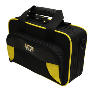 Gator Clarinet Yellow/Black Semi-Hard Case