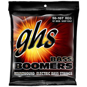 GHS Short Scale 50-107 Bass Strings