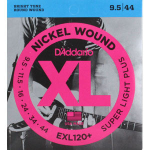 D'Addario EXL120+  9.5-44 Electric Guitar Strings
