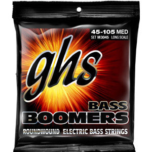 GHS Boomers 45-105 4 Strings Bass Strings