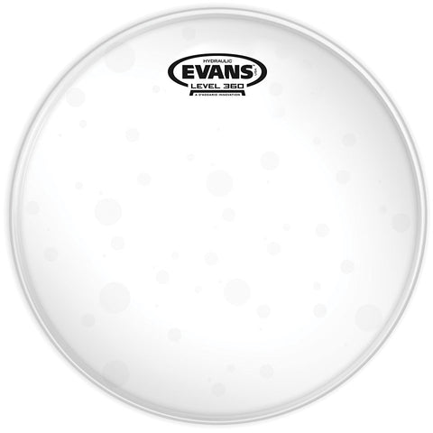 "Evans 8"" Hyd Glass Clear Tom Drum Head"