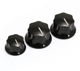 Jazz Bass Knobs (Pack of 3)