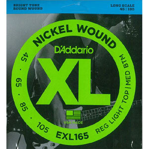 D'Addario EXL165  45-105 Bass 4 String Set