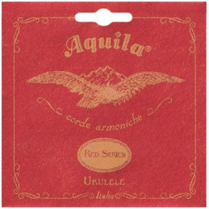 Aquila Red Low G Tenor Ukulele Set