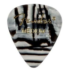 Fender Zebra Pick Pack Medium (12/Pack)
