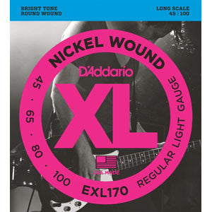 D'Addario EXL170  45-100 Bass 4 String Set