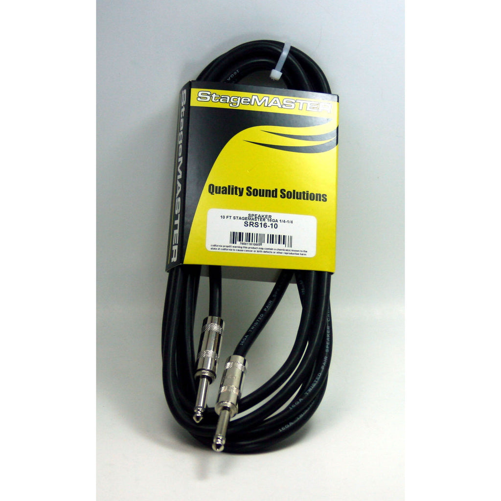 Rapco Stage Master Speaker Cable 10' Long
