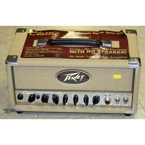 Peavey MH Micro 20 Tweed Guitar Head