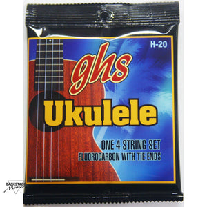 GHS Fluorocarbon Ukulele Strings for Soprano and Concert Sizes (Set)