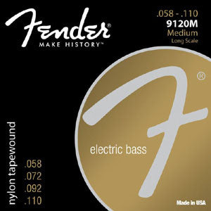 Fender Bass Nylon Tapewound 58-110 4 String Bass Strings