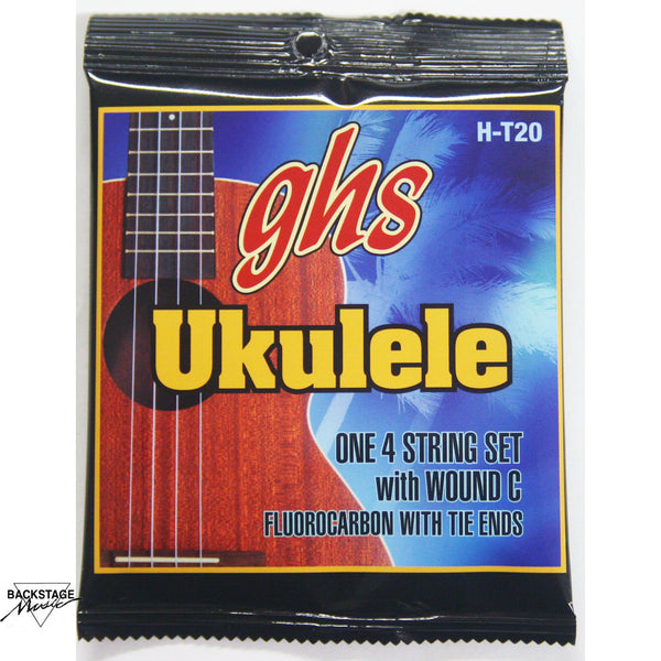GHS Fluorocarbon Tenor Ukulele Strings (Set)