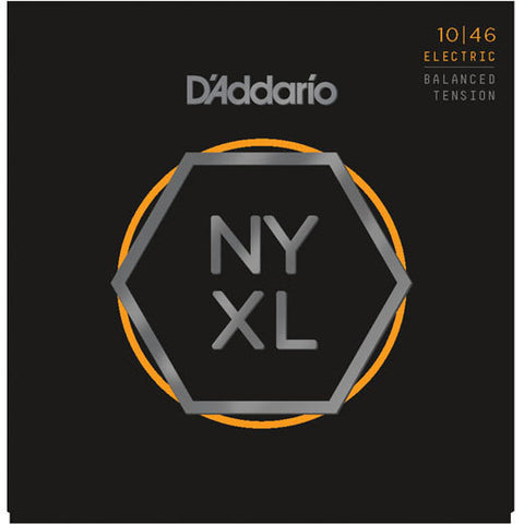D'Addario NYXL Electric Guitar Strings 10-46