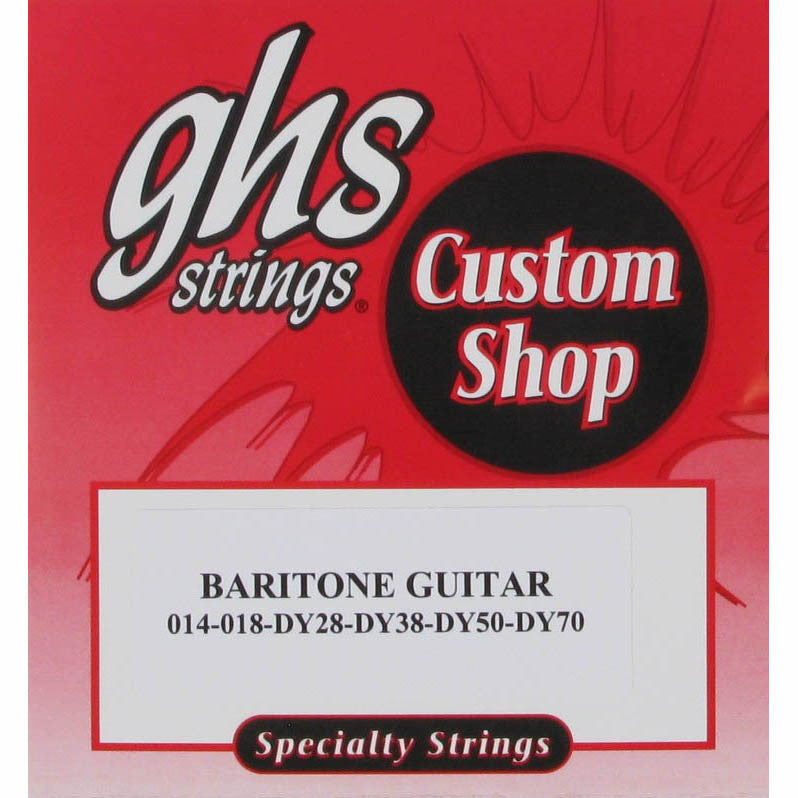 GHS Baritone Guitar Electric Strings 14-70