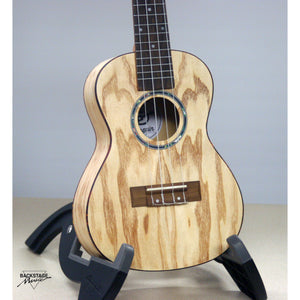 Amahi Penguin Classic Quilted Ash Concert Ukulele With Padded Gig Bag
