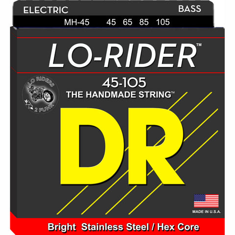 DR Lo-Rider Bass Strings 45-105