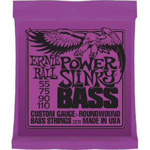 Ernie Ball Power Slinky 55-110 Electric Bass Strings