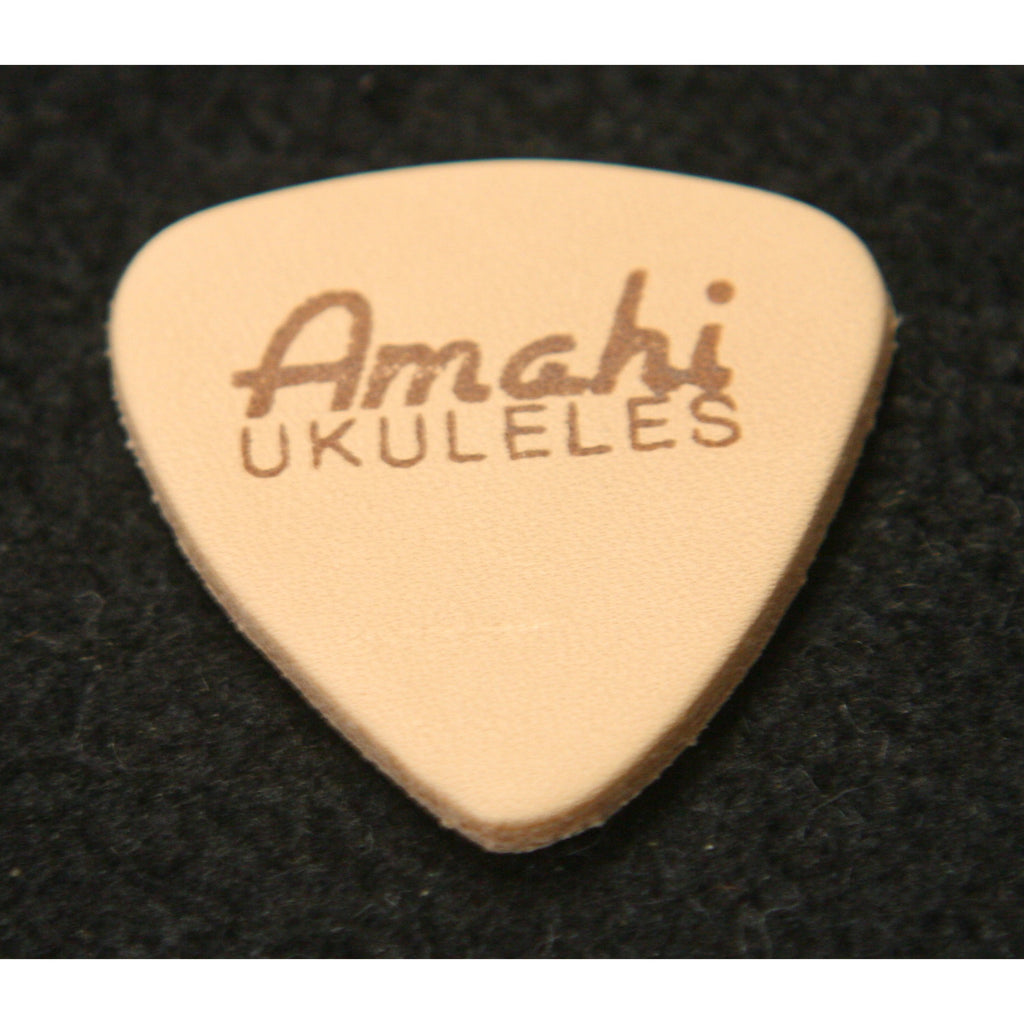 Amahi Ukulele Pick, Two Ply Leather