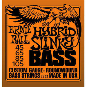 Ernie Ball Hybrid Slinky 45-105 Electric Bass Strings