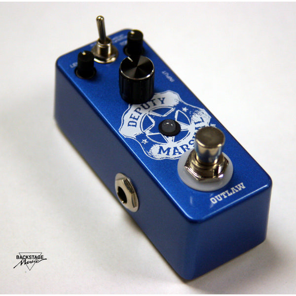 "Outlaw ""Deputy Marshall"", Plexi Style Distortion Mini Pedal"