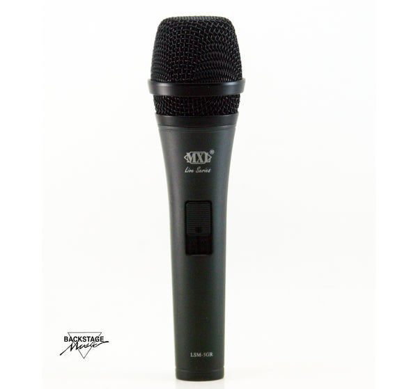 MXL Gray Live Series Dynamic Microphone With High End Boost