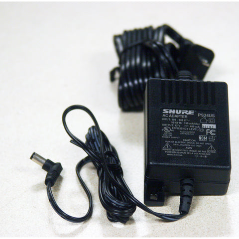 Shure PS24US Power Supply for Wireless Mics