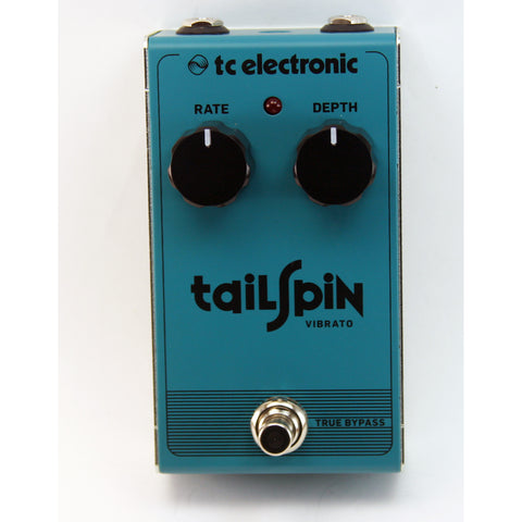 TC Electronics Tailspin Vibrato Effects Pedal