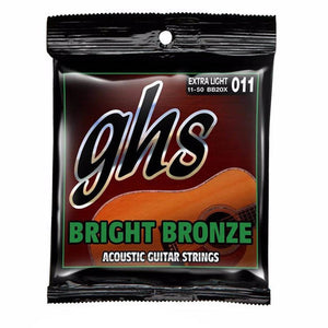 GHS Bright Bronze Acoustic Strings 11-50