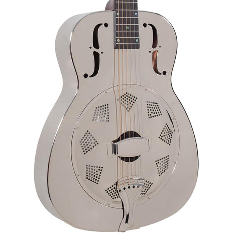 Recording King Bell-Brass Resonator Guitar, Free Case, Free Shipping
