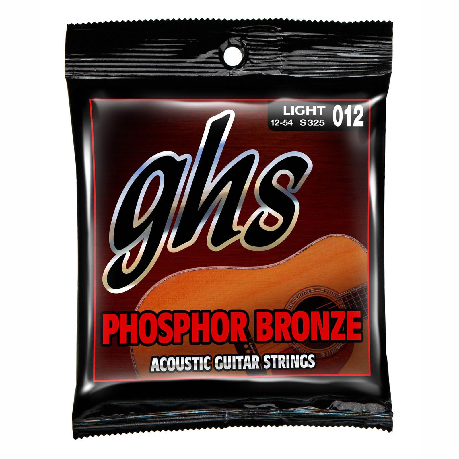 GHS Phosphorus Bronze Light  Acoustic Strings  12-54