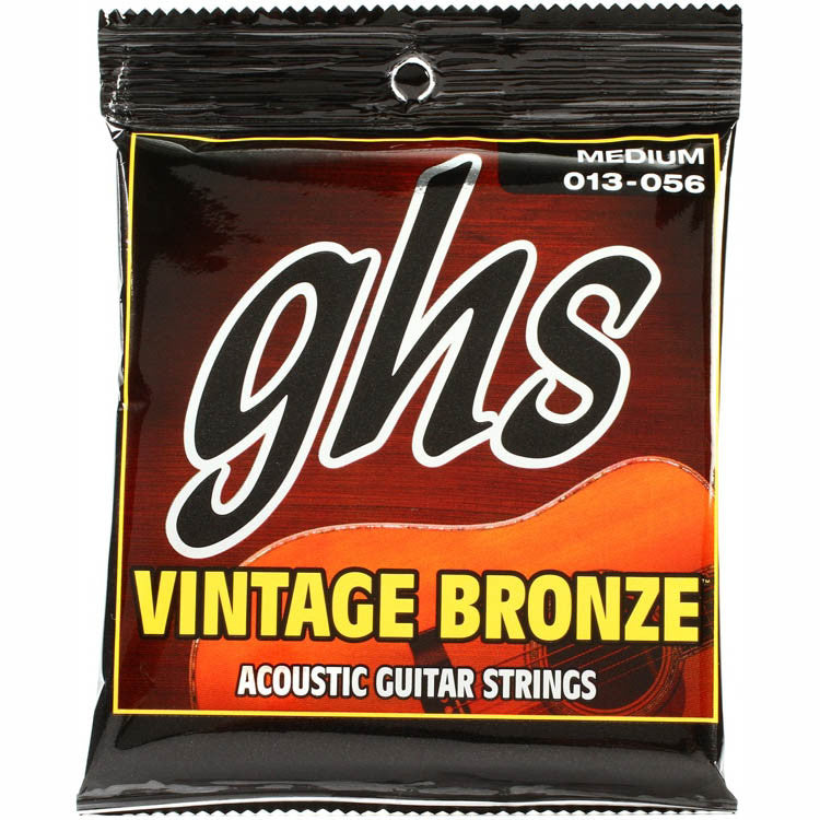 GHS Vintage Bronze Medium  Acoustic Strings  13-56